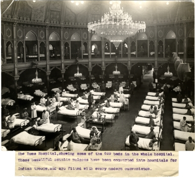 The_Dome_Hospital_Brighton,_showing_some_of_the_689_beds_in_the_whole_hospital_(Photo_24-1)